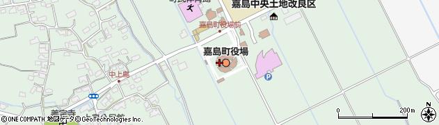 熊本県嘉島町(上益城郡)周辺の地図