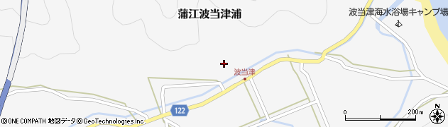 大分県佐伯市蒲江大字波当津浦643周辺の地図