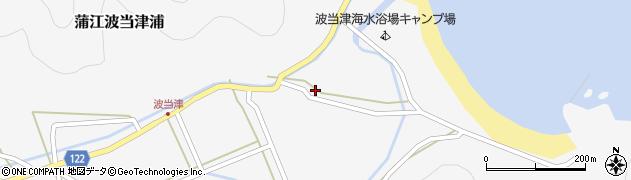大分県佐伯市蒲江大字波当津浦793周辺の地図