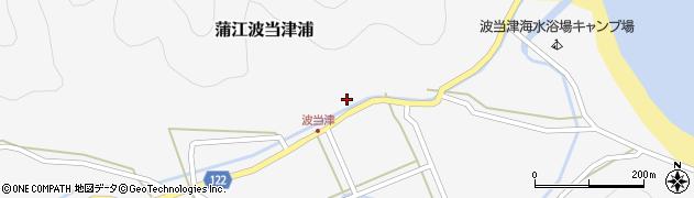 大分県佐伯市蒲江大字波当津浦661周辺の地図