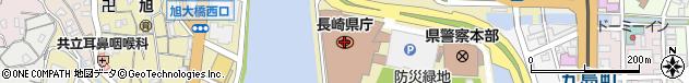 長崎県周辺の地図