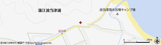 大分県佐伯市蒲江大字波当津浦670周辺の地図