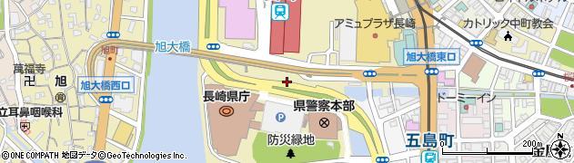長崎県長崎市尾上町周辺の地図