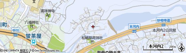 水神神社周辺の地図
