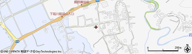 砥川宮周辺の地図