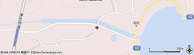 大分県佐伯市蒲江大字葛原浦1092周辺の地図