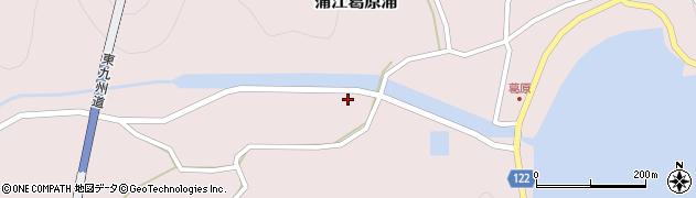 大分県佐伯市蒲江大字葛原浦1108周辺の地図