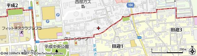 平成パークマンション周辺の地図