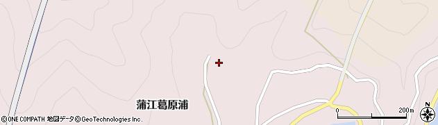 大分県佐伯市蒲江大字葛原浦165周辺の地図