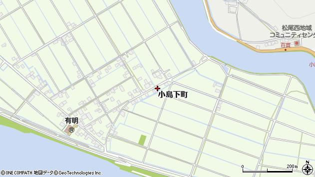 〒861-5284 熊本県熊本市西区小島下町の地図
