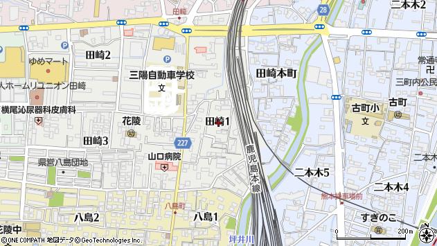 〒860-0053 熊本県熊本市西区田崎の地図