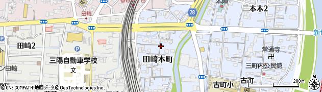 熊本県熊本市西区田崎本町周辺の地図
