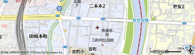 二本木神社周辺の地図