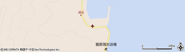 大分県佐伯市蒲江大字丸市尾浦1640周辺の地図