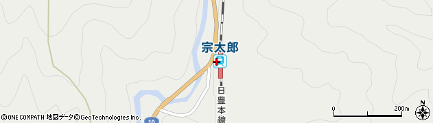 大分県佐伯市宇目大字重岡3544周辺の地図