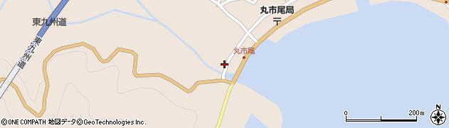 大分県佐伯市蒲江大字丸市尾浦1335周辺の地図