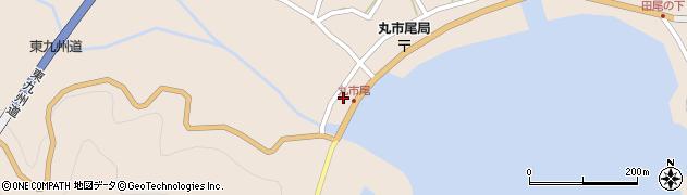 大分県佐伯市蒲江大字丸市尾浦1303周辺の地図