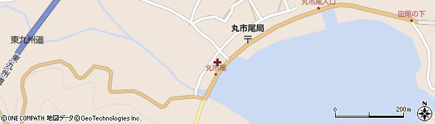 大分県佐伯市蒲江大字丸市尾浦1331周辺の地図