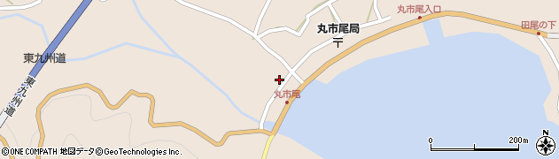 大分県佐伯市蒲江大字丸市尾浦1313周辺の地図