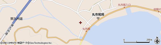 大分県佐伯市蒲江大字丸市尾浦1316周辺の地図