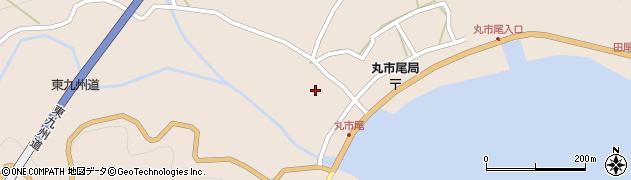 大分県佐伯市蒲江大字丸市尾浦1297周辺の地図
