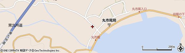大分県佐伯市蒲江大字丸市尾浦1324周辺の地図