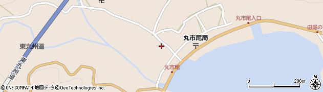 大分県佐伯市蒲江大字丸市尾浦1323周辺の地図