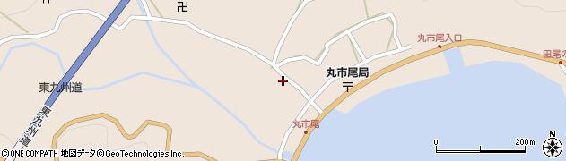 大分県佐伯市蒲江大字丸市尾浦1288周辺の地図