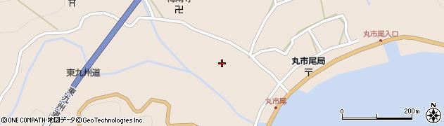大分県佐伯市蒲江大字丸市尾浦1265周辺の地図