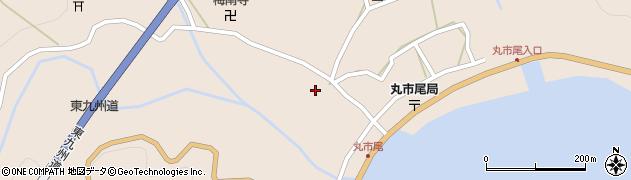 大分県佐伯市蒲江大字丸市尾浦1281周辺の地図