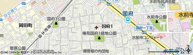 新水前寺駅前駅徒歩3分駐車場周辺の地図