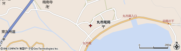 大分県佐伯市蒲江大字丸市尾浦947周辺の地図