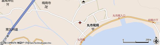 大分県佐伯市蒲江大字丸市尾浦953周辺の地図