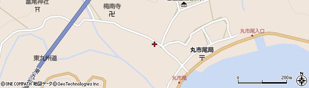 大分県佐伯市蒲江大字丸市尾浦1280周辺の地図