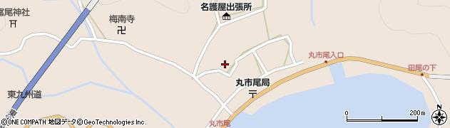 大分県佐伯市蒲江大字丸市尾浦925周辺の地図