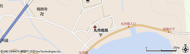 大分県佐伯市蒲江大字丸市尾浦606周辺の地図