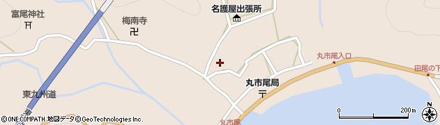 大分県佐伯市蒲江大字丸市尾浦910周辺の地図