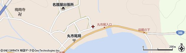 大分県佐伯市蒲江大字丸市尾浦511周辺の地図
