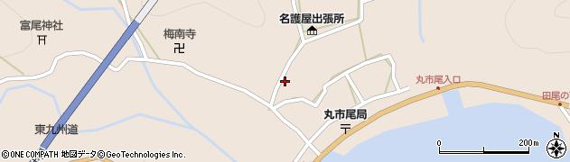 大分県佐伯市蒲江大字丸市尾浦908周辺の地図