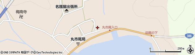 大分県佐伯市蒲江大字丸市尾浦510周辺の地図