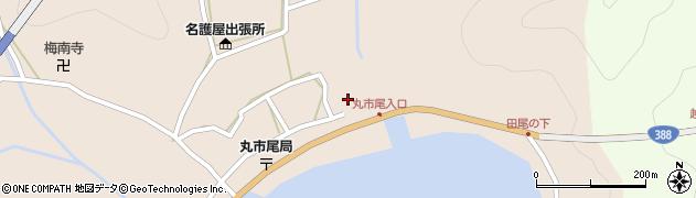 大分県佐伯市蒲江大字丸市尾浦502周辺の地図