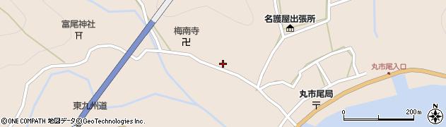 大分県佐伯市蒲江大字丸市尾浦1001周辺の地図
