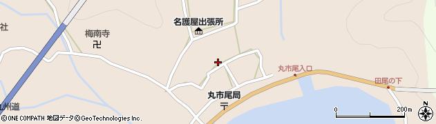 大分県佐伯市蒲江大字丸市尾浦582周辺の地図