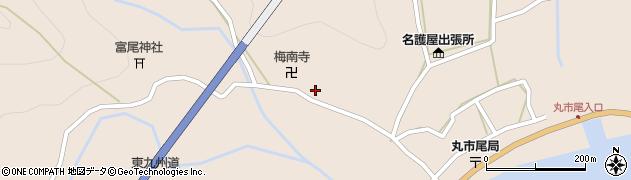 大分県佐伯市蒲江大字丸市尾浦1031周辺の地図