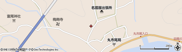 大分県佐伯市蒲江大字丸市尾浦982周辺の地図