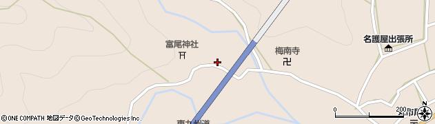 大分県佐伯市蒲江大字丸市尾浦1208周辺の地図