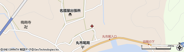 大分県佐伯市蒲江大字丸市尾浦534周辺の地図
