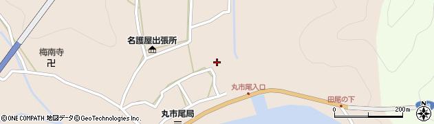 大分県佐伯市蒲江大字丸市尾浦524周辺の地図