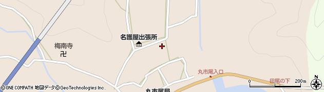 大分県佐伯市蒲江大字丸市尾浦567周辺の地図