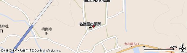 大分県佐伯市蒲江大字丸市尾浦617周辺の地図